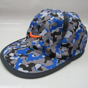 NIKE Dri-Fit Hat Cap Camo Royal Youth size 4/7